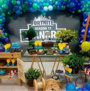 24 ideas para Fiesta de Cumpleaños Fortnite 12