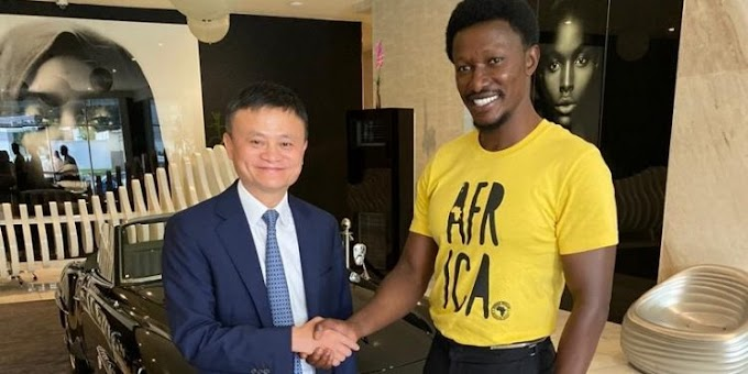 Kwarleyz Residence hosts Jack Ma, Alibaba Executive team, other celebs in Accra