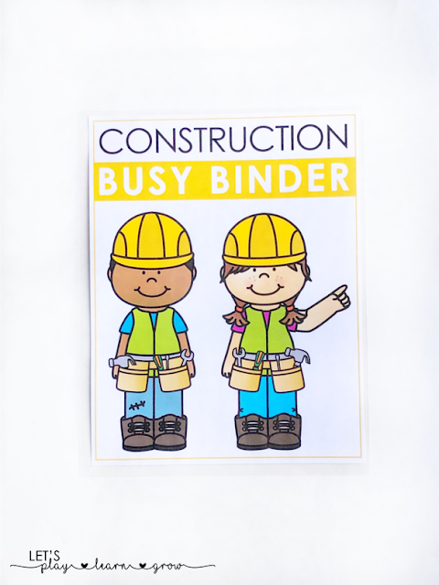 Construction Busy Binder