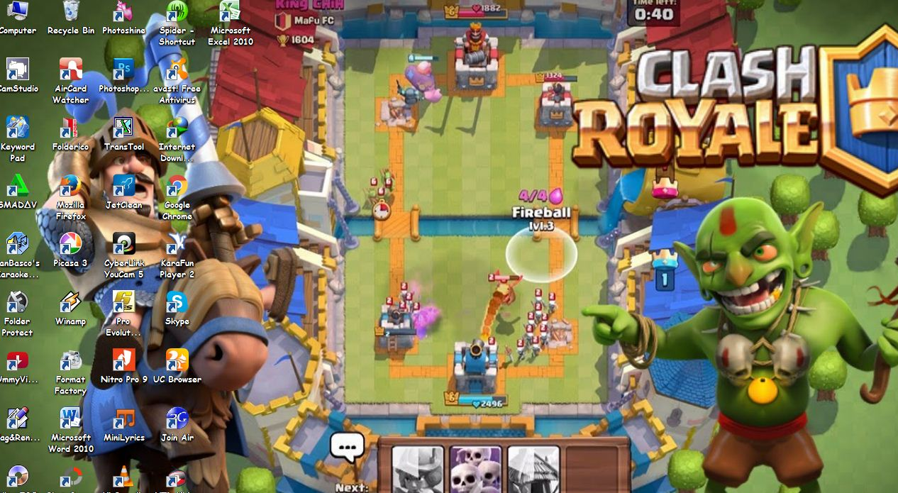 Download Tema Clash Of Royale For Windows - Kumpulan Tema ...