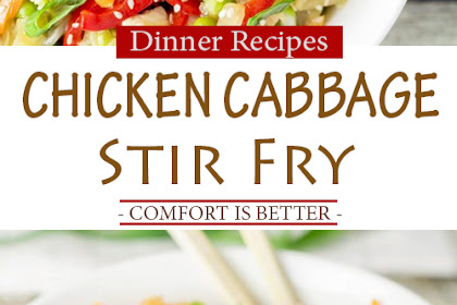 Chicken Cabbage Stir Fry (Delicious Recipe + Video)