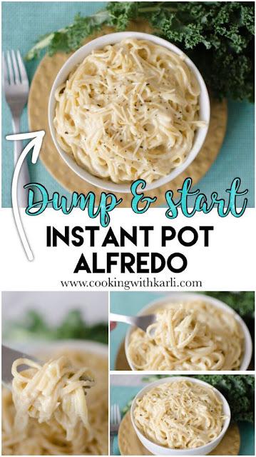 Dump and Start Instant Pot Alfredo