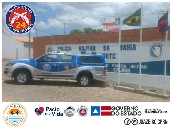 24ª CIPM PRENDE HOMEM ACUSADO DE HOMICÍDIO NA CIDADE DE MIGUEL CALMON, MOMENTOS APÓS O ATO CRIMINOSO