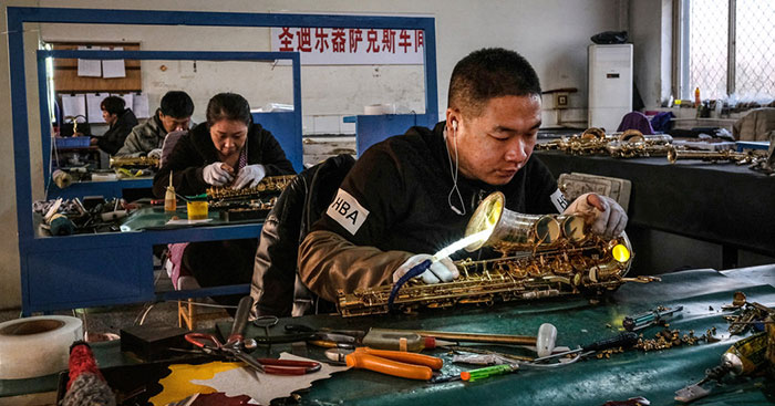 Sidangkou China Saxophone