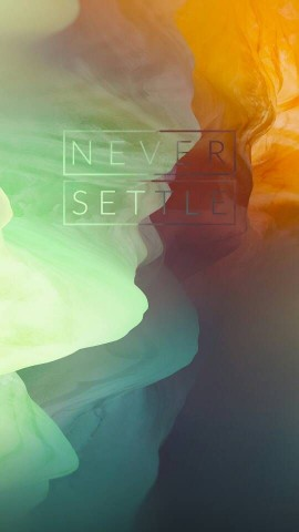 All set of OnePlus 3 Never Settle Wallpapers