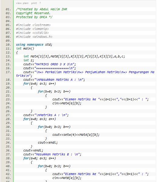 Cara Membuat Tampilan Notepad++ / View Plain Di Blog