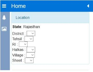 Rajasthan Geo Map