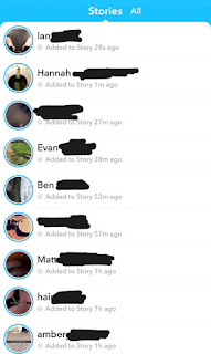 Snapchat returns chronological Stories feed