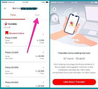 Cara isi ulang kuota Telkomsel Murah