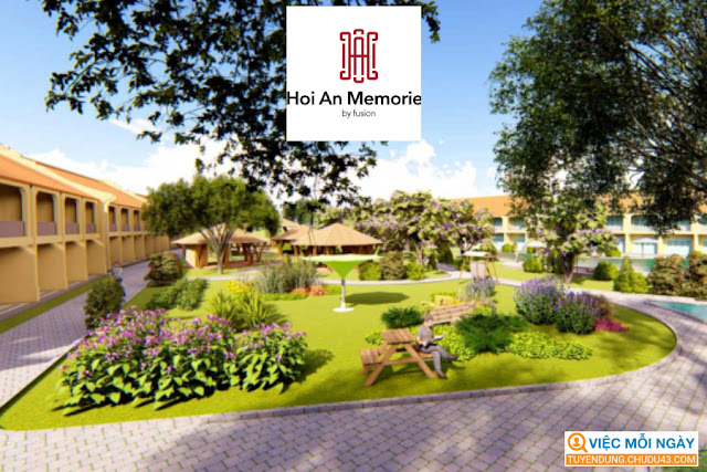 Hoi An Memories Resort by Fusion, Hoi An Memories resort, Tuyển dụng hội an