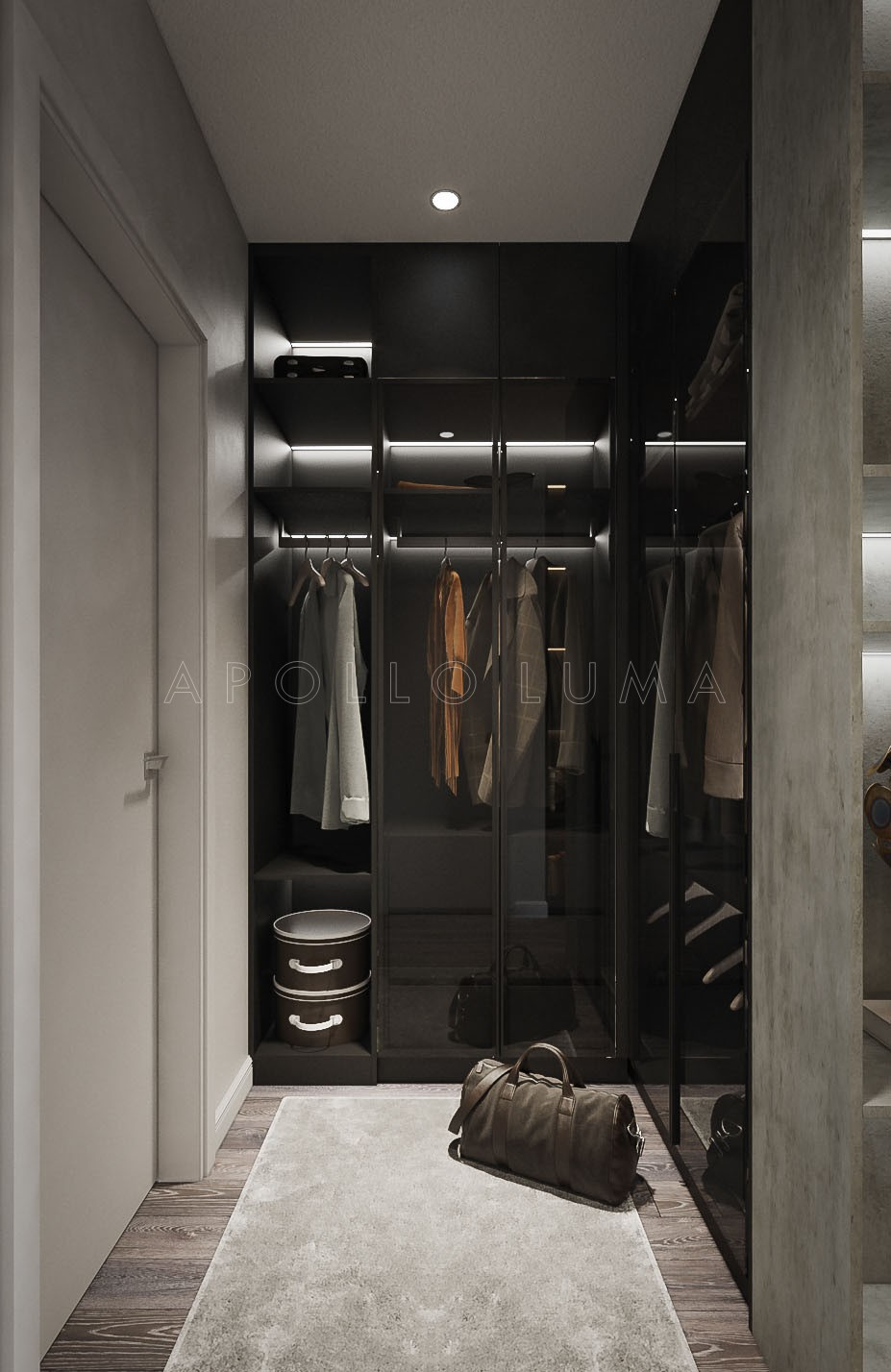 Thiết kế nội thất căn hộ 2 phòng ngủ The Zei Mỹ Đình