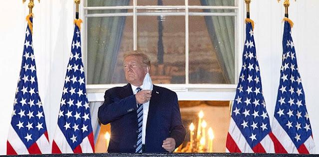 Dokter Gedung Putih: Virus Corona Dalam Tubuh Donald Trump Tidak Lagi Menular