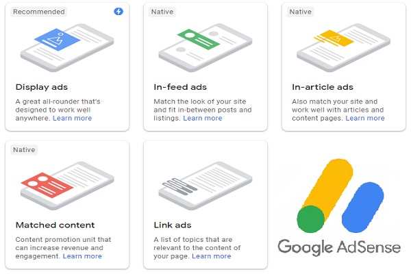 Taking a Look at the New 2019 Adsense Ad-Units