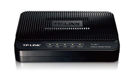 Modem ADSL2+ Ethernet/USB Modem Router
