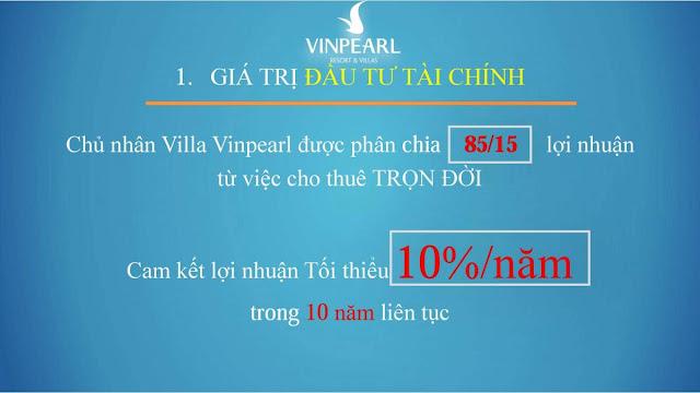 Bài toán đầu tư Vinpearl