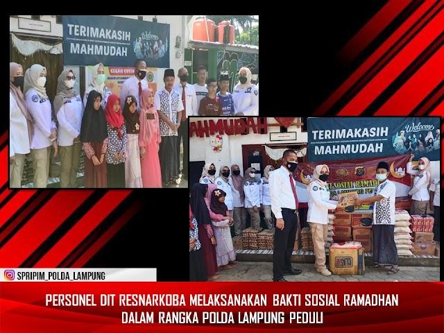Polda Lampung Lakukan Kegiatan Bhakti Sosial Ke Beberapa Panti