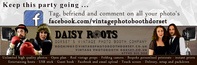 Daisy Roots - Vintage Photo Booth Dorset Bournemouth Poole