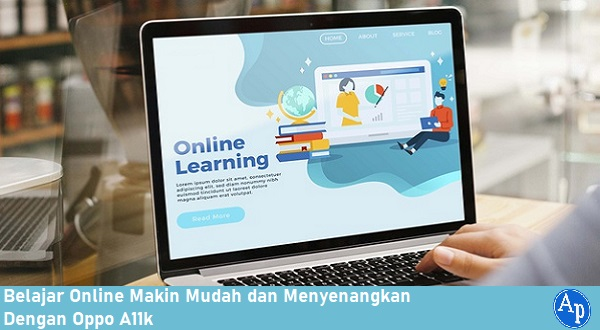 Belajar online dengan Oppo A11k
