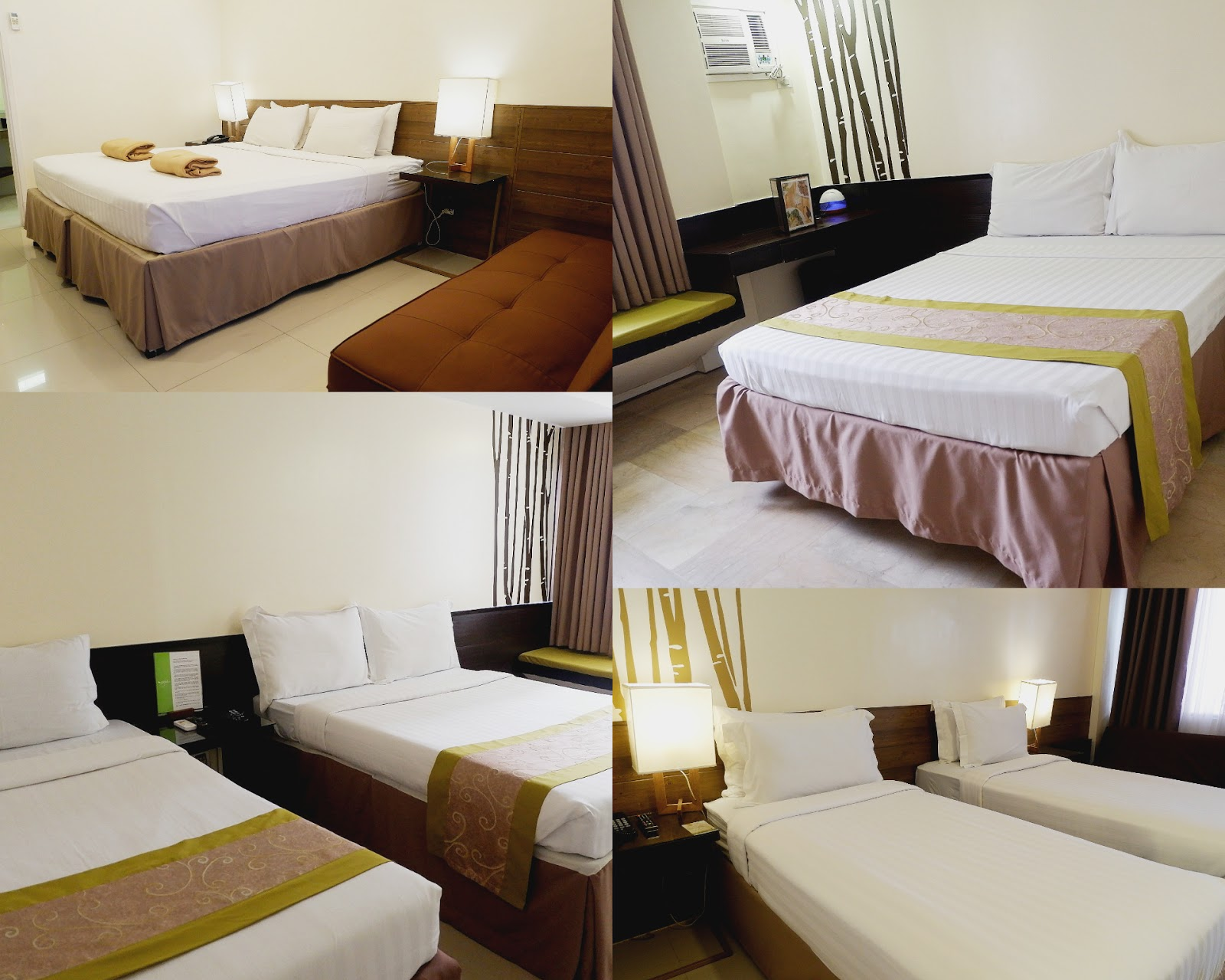 hotel rooms at selah garden hotel