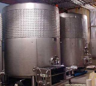 tanque fermentação produçao vinho