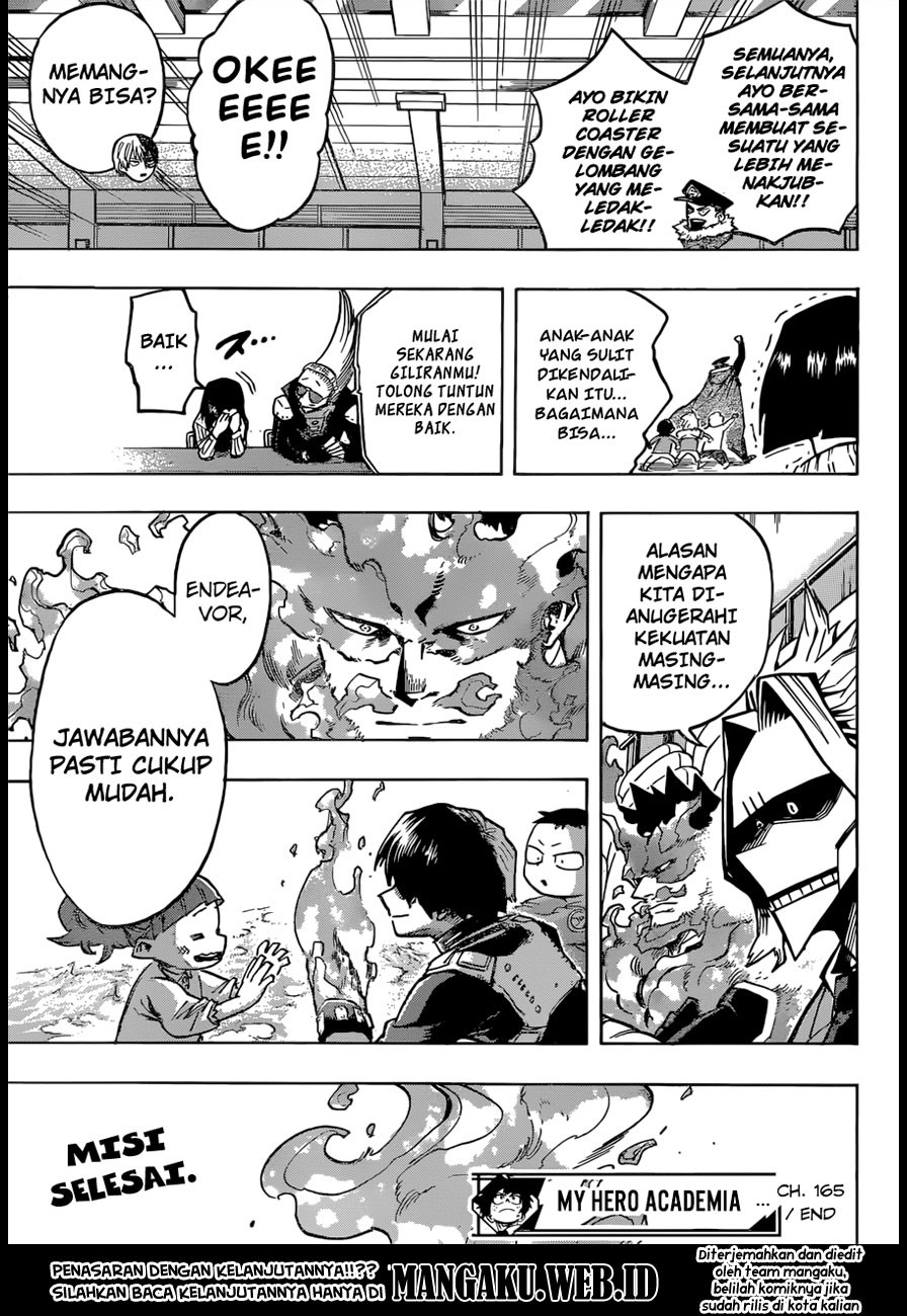Baca Komik Boku no Hero Academia Chapter 166 KomikStation