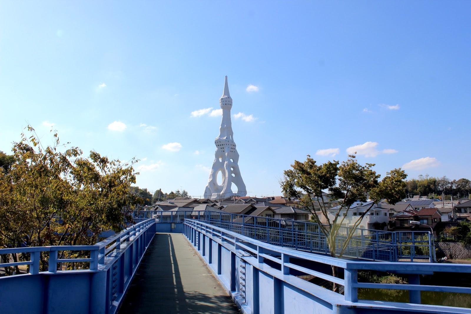 ミライノシテンPL教団の奇妙な塔?まるで宇宙人が飛来したような怪しい塔に行って見た。【c】
