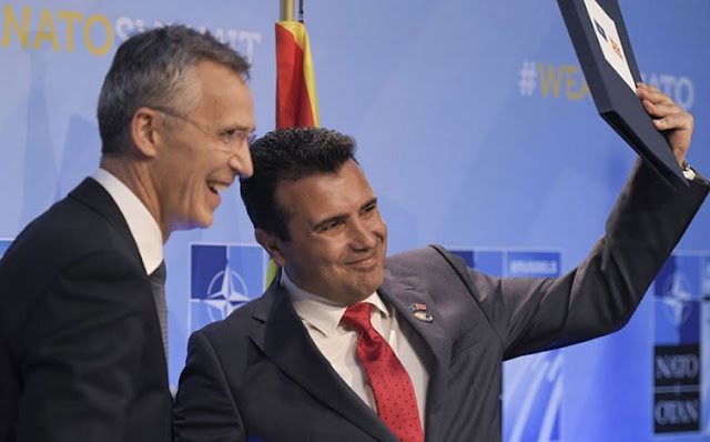 North Macedonia the 30th NATO member, formally talks began