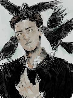 Výsledok vyhľadávania obrázkov pre dopyt the raven king fan art