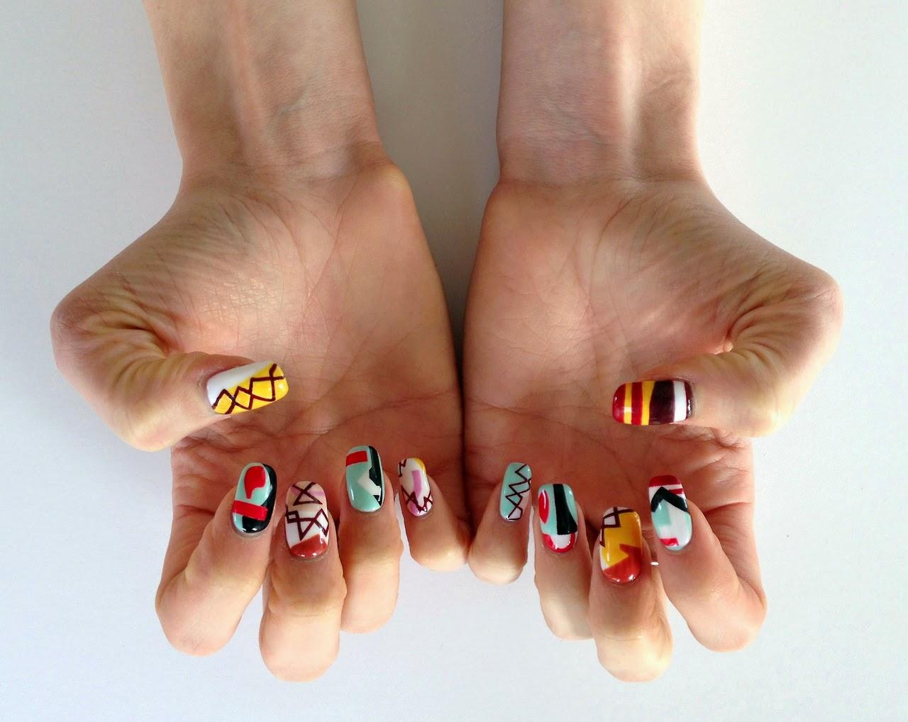 Nails Art: BloggHer : Marzo 2014