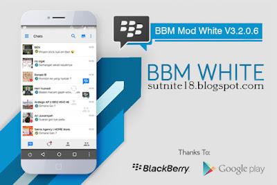 BBM Mod White V3.2.0.6 Apk