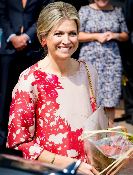 Queen Maxima of The Netherlands attended the final concert of the 2nd edition of Kinderen Maken Muziek (Children make music)