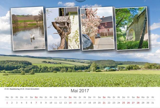 Kalenderbild Mai 2017