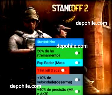 Standoff 2 Mod Menu Lobinho ESP, Tek Atma Hilesi İndir 2021