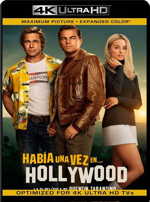 Había una vez en… Hollywood (2019) 4K 2160p UHD [HDR] Latino [GoogleDrive]