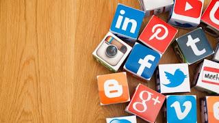 Media Sosial  Sidebar Blog dengan CSS Sprite