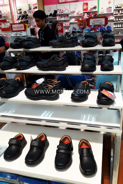 SM Department Store, Spiderman, Black Shoes, back to school tips