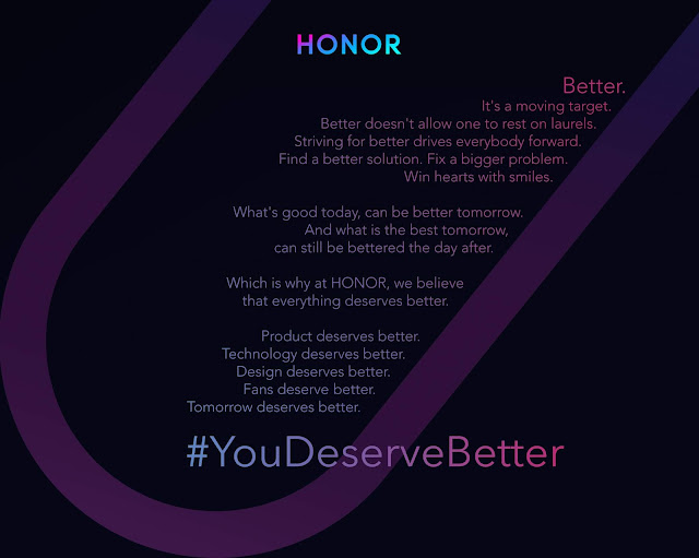 HONOR announces new campaign – You Deserve Better; promises better for all