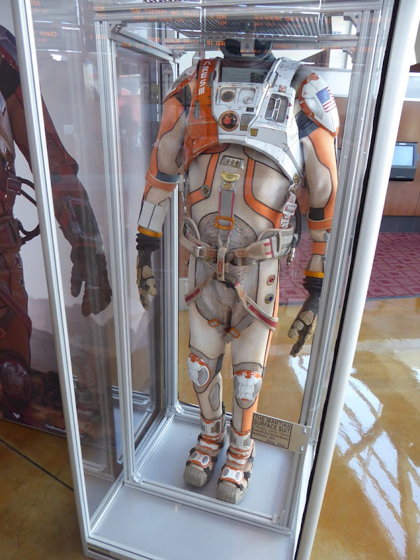 Matt Damon Martian astronaut suit