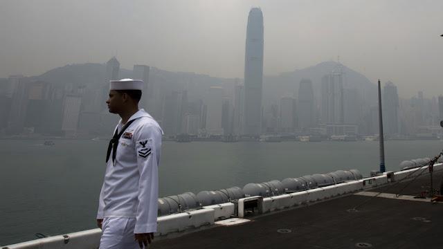 China deniega una visita de dos buques de la Armada de EE.UU. al puerto de Hong Kong