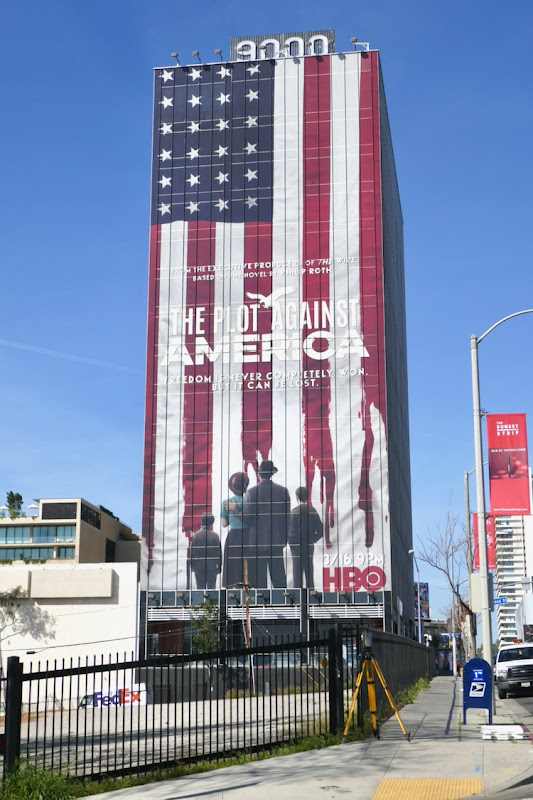 Plot Against America miniseries billboard