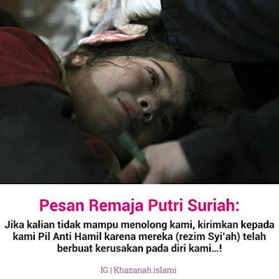 muslimah suriah