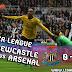 HASIL SKOR Newcastle Vs  Arsenal