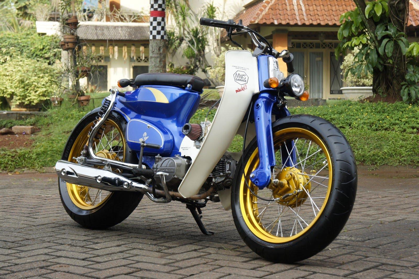50 Foto Modifikasi Standart Motor Honda Astrea Grand Ke C70