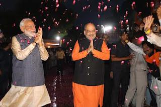 लोकसभा चुनाव 2019 में 5 बड़ी जीत/bjp-amit-shah