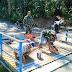 Satu Jembatan Rampung, Satgas TMMD Kodim 0204/DS Lakukan Pengecatan