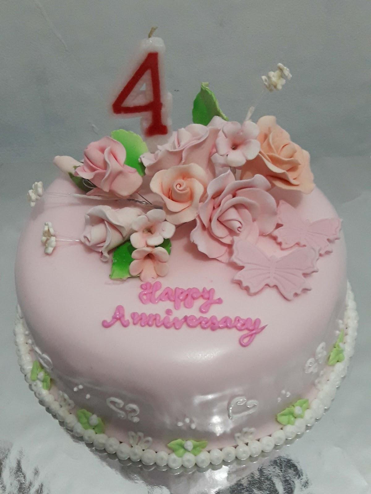 Black Label Price >> Orchid Cake: Anniversary Cake, Kue Tart dgn hiasan Pengantin.