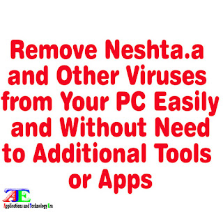 remove win32/neshta.a and other viruses