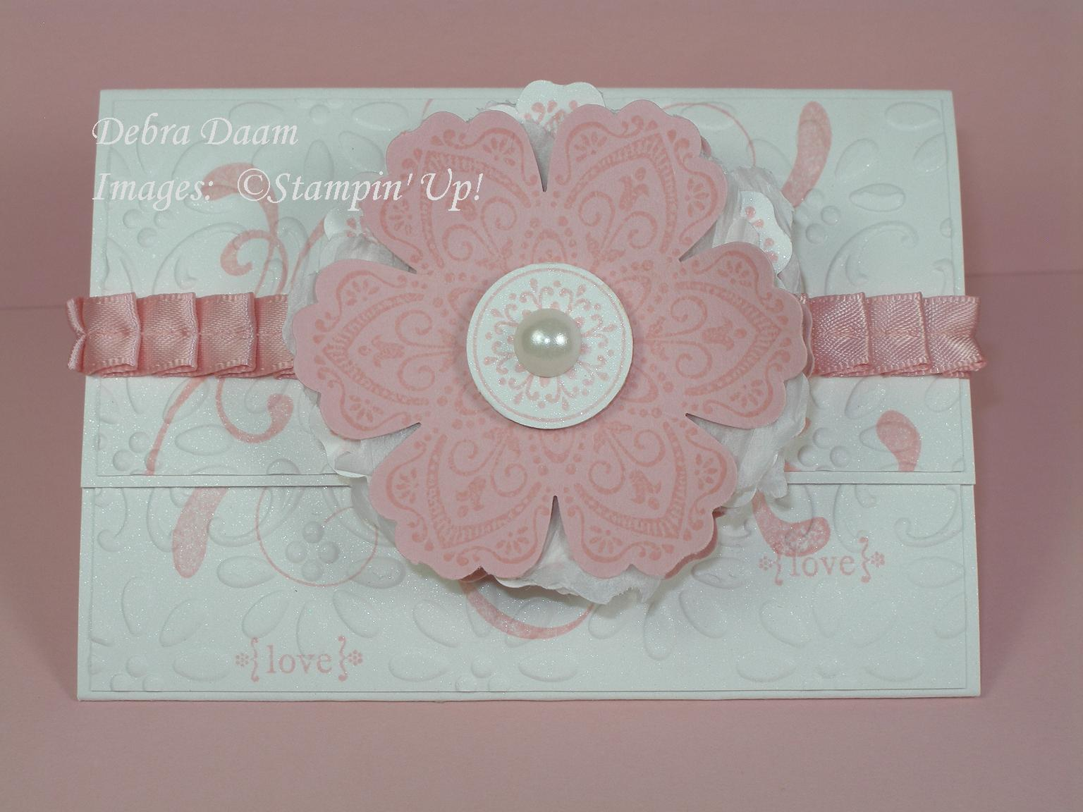 Gift Card Wedding Shower: Debra's Stamp Life: Wedding Shower Gift Card Holder