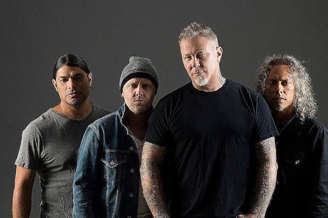 """Metallica comemoram 35º aniversário de """"Master of Puppets"""""""