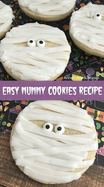 Easy Mummy Sugar Cookies Recipe